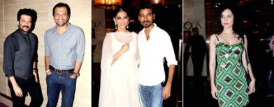 Spotted at 'Raanjhanaa' success bash