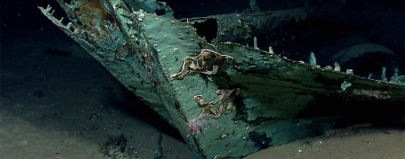 Shipwreck explorers make thrilling discovery