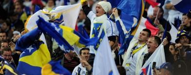 Bandiera Bosnia (foto gettyimages)