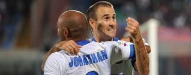 Rodrigo Palacio, Jonathan, Inter (foto Ap/LaPresse)