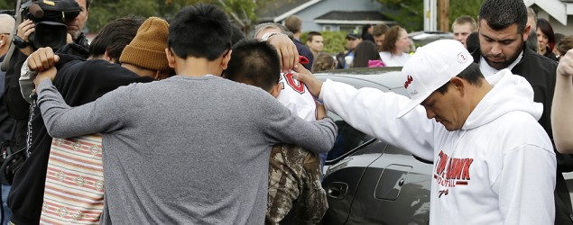 Washington state high school shooting (AP)