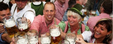 World's top 10 alcohol-guzzling countries