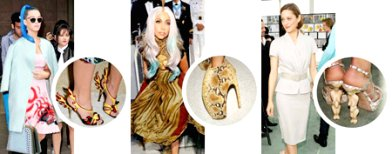 12 outrageous shoes worn by celebrities