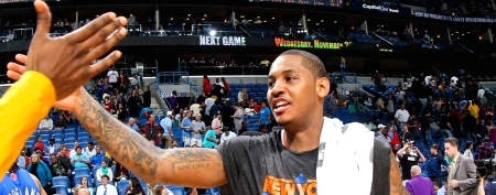 Something's changed in Carmelo Anthony