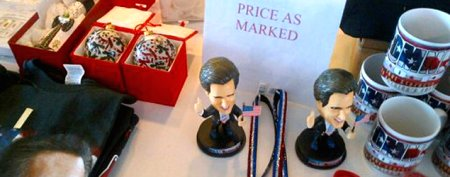 Romney merchandise: Everything must go