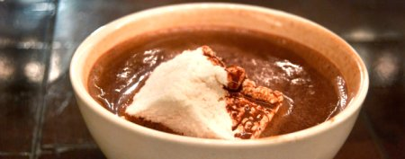 Delicious hot chocolate to warm you up