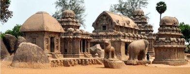 Mahabalipuram - monuments of the gods