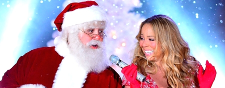 Mariah's head-turning holiday dress