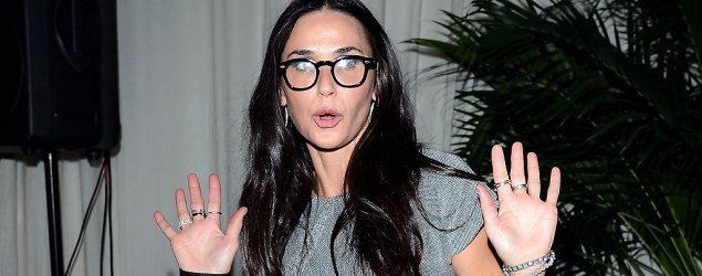 Demi Moore lets loose in wild night out