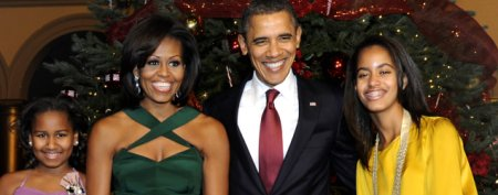 Surprising star of White House holiday card