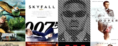 Best and worst movie posters of 2012