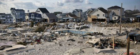 Sandy victim's home mysteriously vanishes