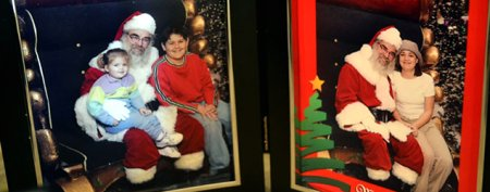 Childhood Santa photo yields big surprise