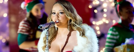 Mariah Carey performs at the 81st Annual Rockefeller Center Christmas Tree Lighting (Gilbert Carrasquillo/Getty Images)