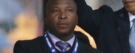 The sign language interpreter at Mandela's memorial has been accused of being a fake.