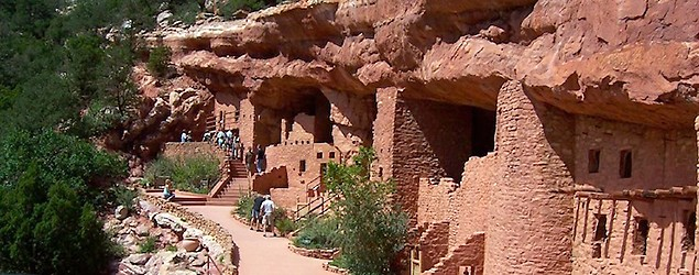 There's debate over authenticity of the Manitou Cliff Dwellings. (Neeta Lind/Flickr)