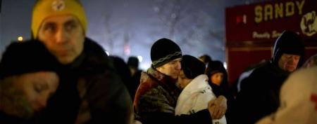 Families prepare for nervous return to school (David Goldman/AP)