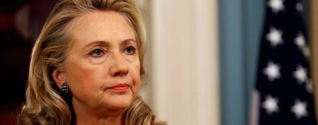 Clinton hospitalized with blood clot