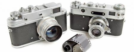 Vintage cameras (ThinkStock)