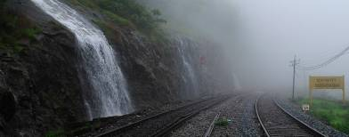 Enjoy the late monsoons at Dudhsagar