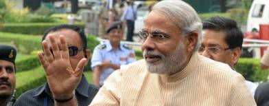 Modi at the heart of BJP reshuffle