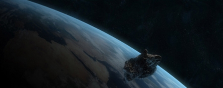 An asteroid will make a close pass by Earth on Friday. (Thinkstock)