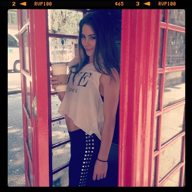 @mckaylamaroney Had to go in the telephone booth in London..