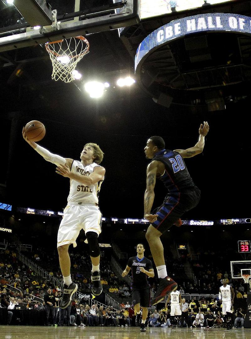 Baker paces No. 12 WSU in 90-72 rout of DePaul