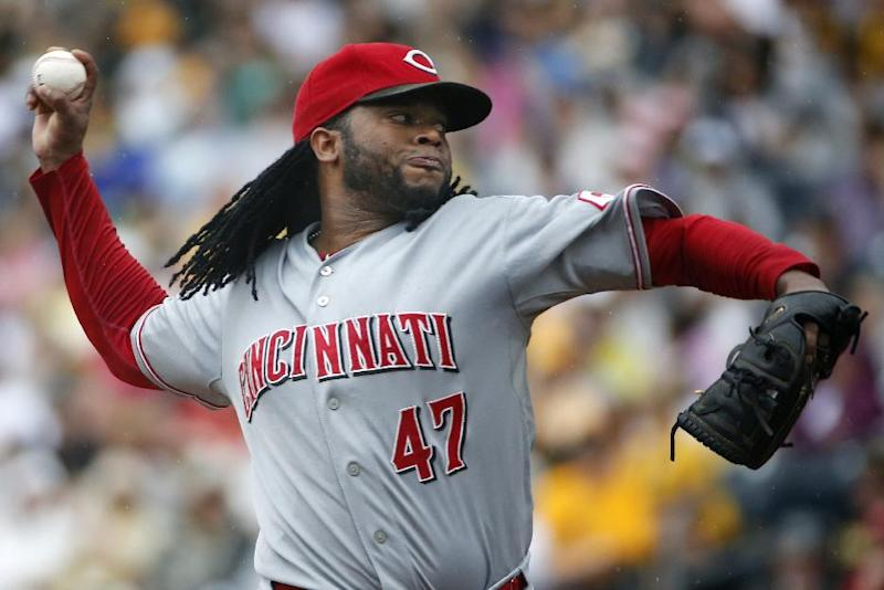Heisey hits 2 HRs, leads Cueto, Reds over Pirates