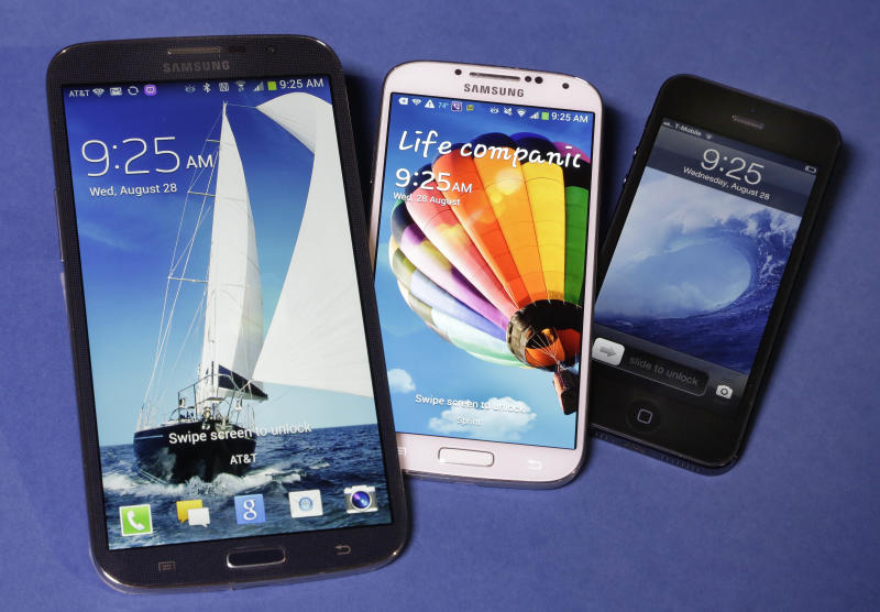 AP reviews new smartphones: Samsung Note and more