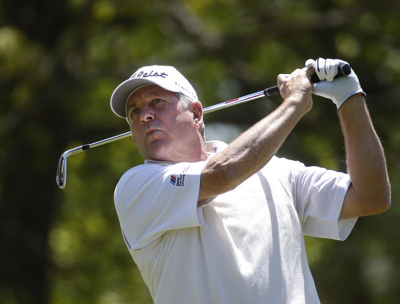4 players share 1st-round Champions Tour lead