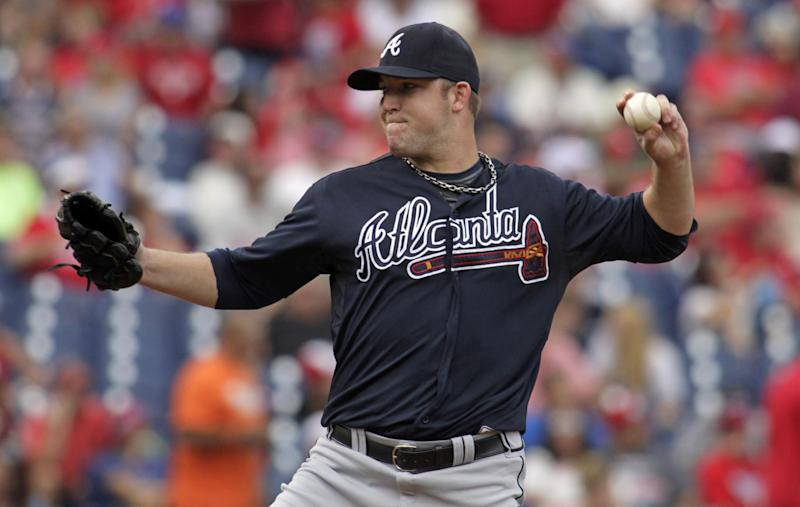 Braves LHP Maholm to miss at least one start