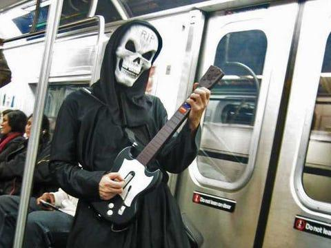 subway grim reaper