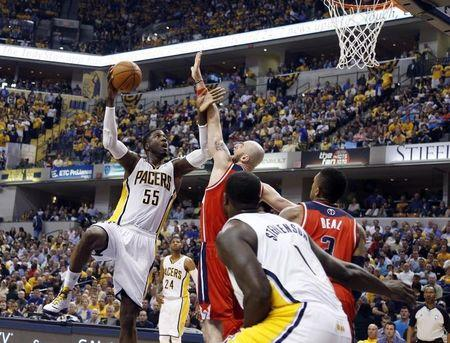NBA: Playoffs-Washington Wizards at Indiana Pacers