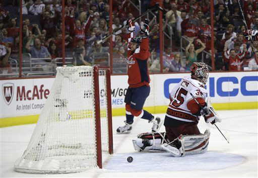 Caps beat Hurricanes 3-1 for 6th straight victory