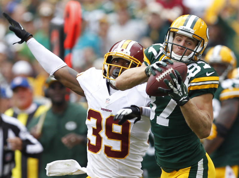 Packers offense rolls on 'yards after catch'