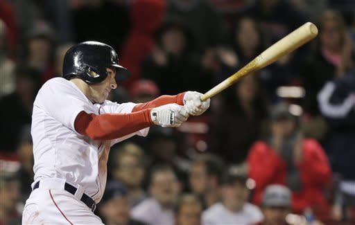 Drew 2B in 11th gives Red Sox 6-5 win over Twins
