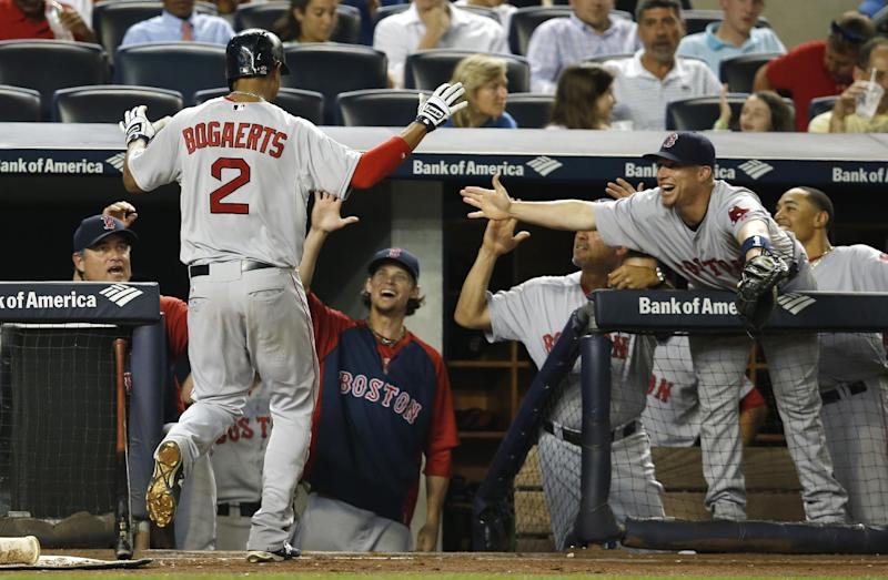 Hot shots Bogaerts, Betts power Red Sox past Yanks