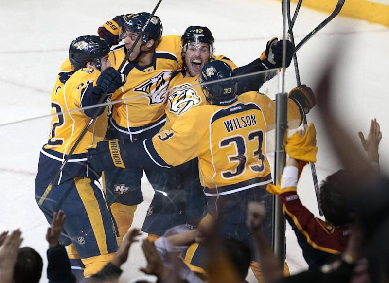 Fisher's 2nd goal of game leads Preds past Kings
