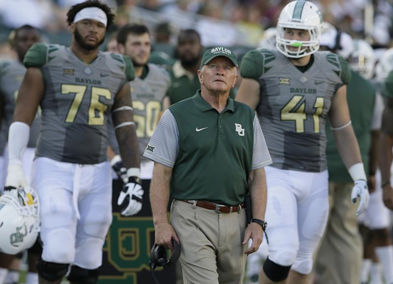 Baylor's Grobe unaware of Oakman with 16th-ranked Bears