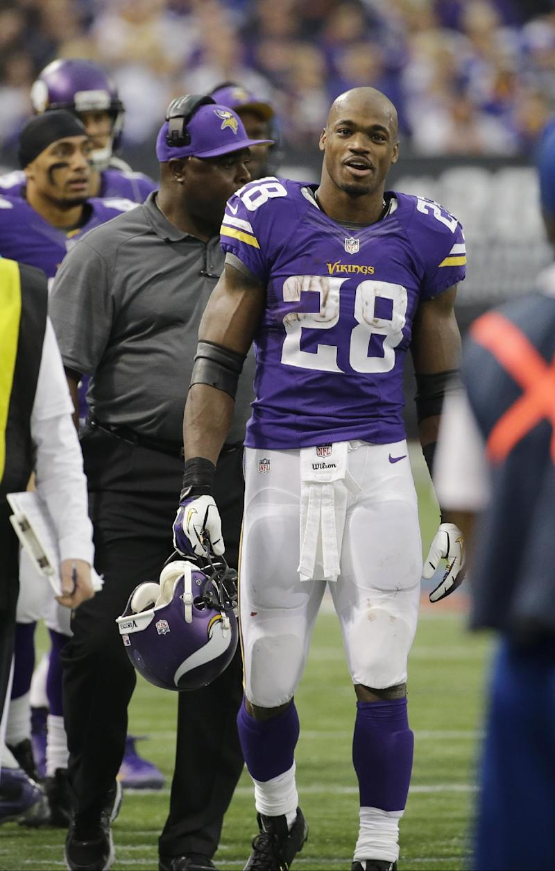 Adrian Peterson empathizes with former players
