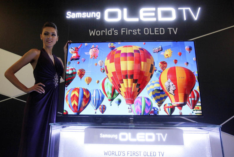 News Summary: Samsung, LG bet on new TV displays