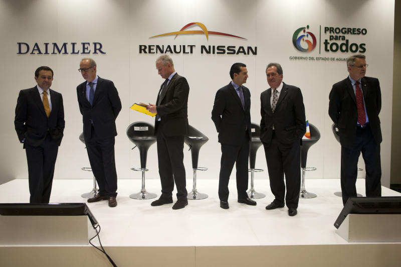 Carmakers to build $1.4 billion Mexico plant