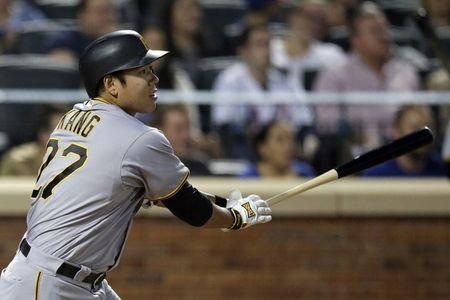 Pirates infielder Kang gets suspended sentence for drink driving