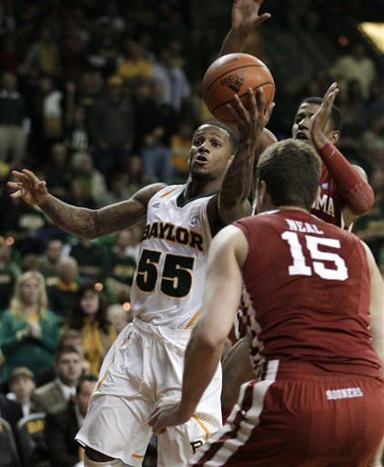 No. 13 Baylor surges past Oklahoma 70-60