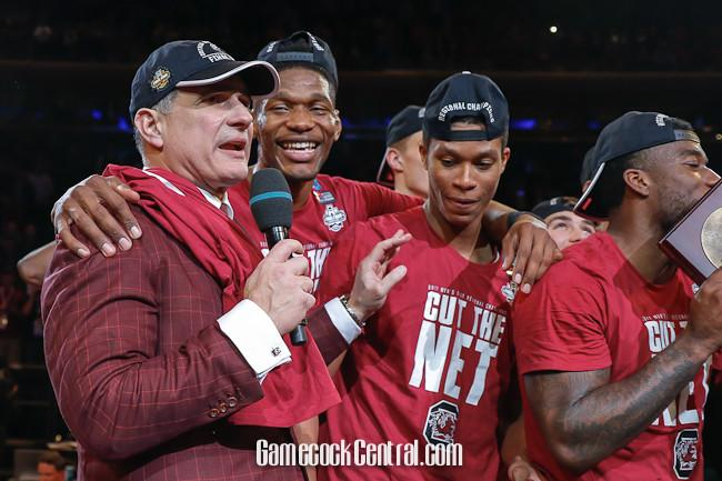 Frank Martin, Dawn Staley receive extensions