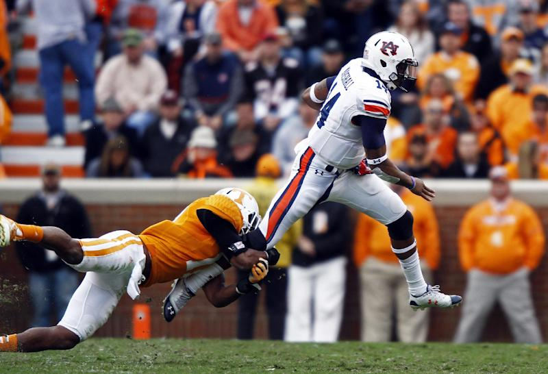 Auburn's Marshall faces former team with UGA visit