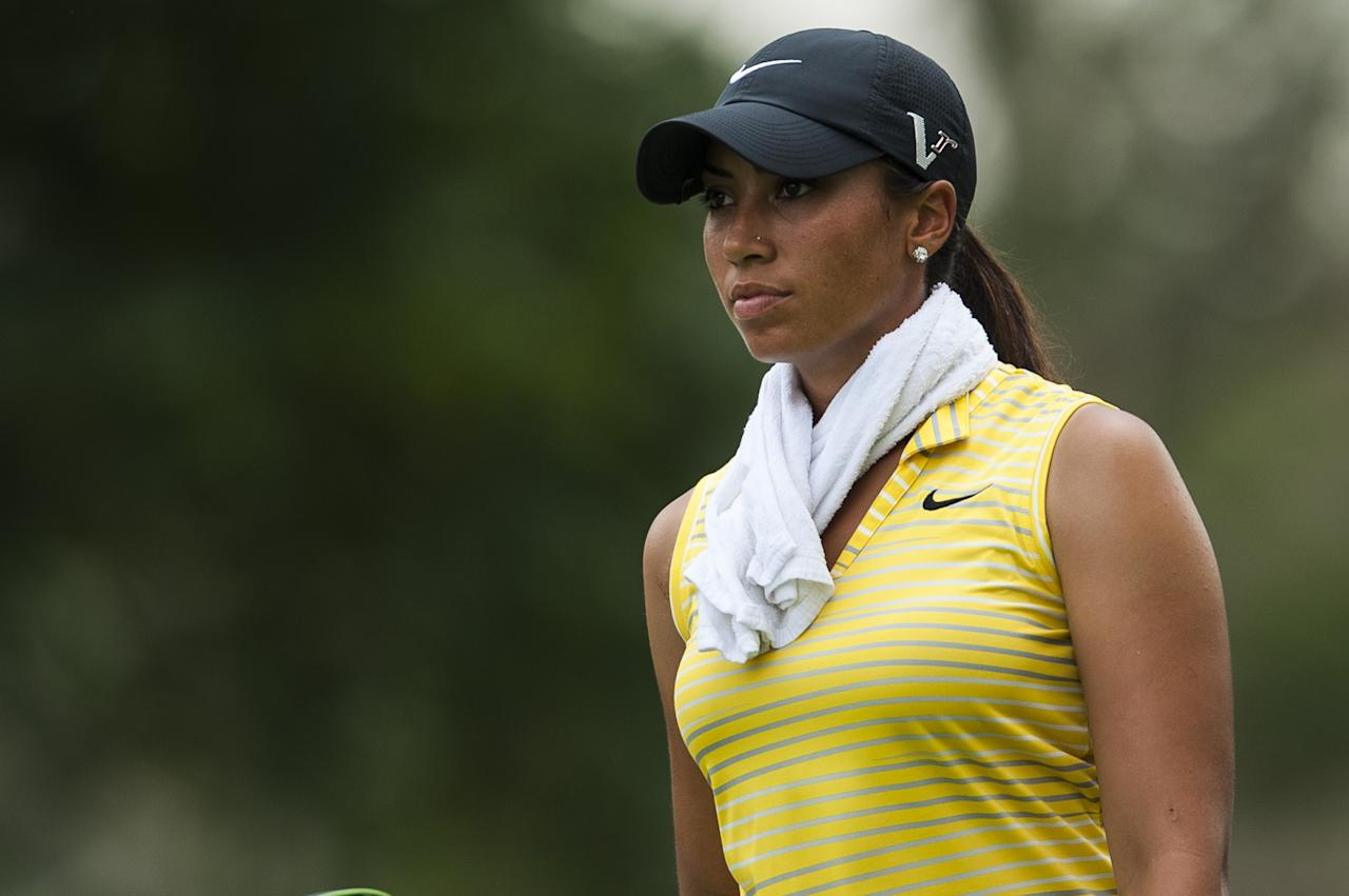 CHON BURI, THAILAND - FEBRUARY 21:  Cheyenne Woods of USA walks on the 9th hole during day one of the 2013 Honda LPGA Thailand at Siam Country Club on February 21, 2013 in Chon Buri, Thailand.  (Photo by Victor Fraile/Getty Images)