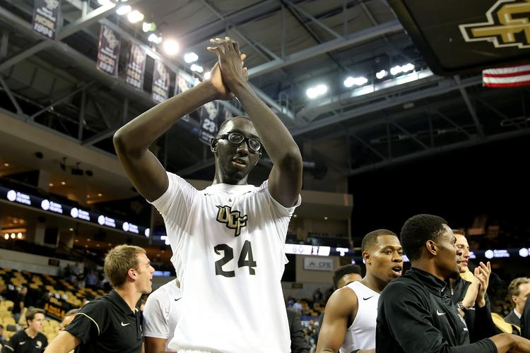 Seven-foot-6 Tacko Fall is growing into an impact player for UCF