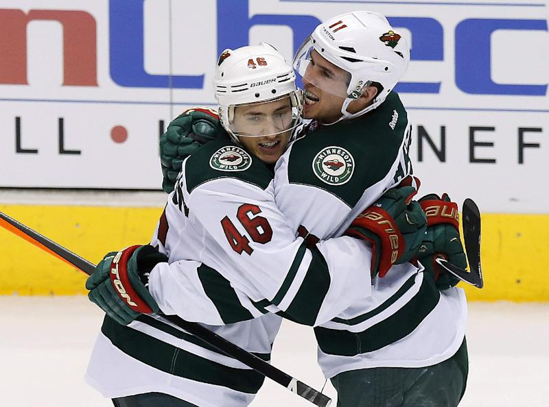 Wild rally in 3rd period to beat Coyotes 3-1